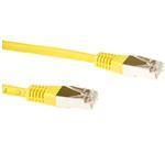 CAT6 Sstp Lszh Patch Cable Yellow 5m
